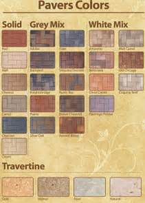 pavestone colors click here to view concrete color chart