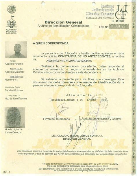 cmo obtengo una constancia de antecedentes penales en pgj agiliza trmite de carta de antecedentes no penales