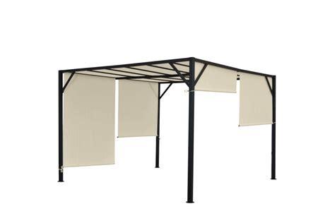 pavillon mit schiebedach pergola baia garten pavillon terrassen 252 berdachung