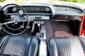 1963 chevrolet impala ss 409 interior 3 view