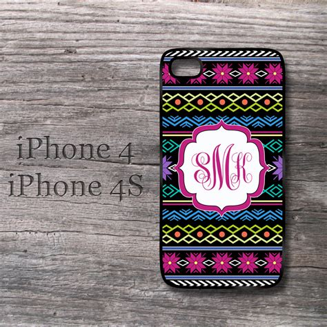 pattern password for iphone 4 iphone knitting pattern personalized monogrammed snap on