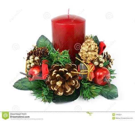 imagenes navidad velas ornamento de la vela de la navidad en el fondo blanco