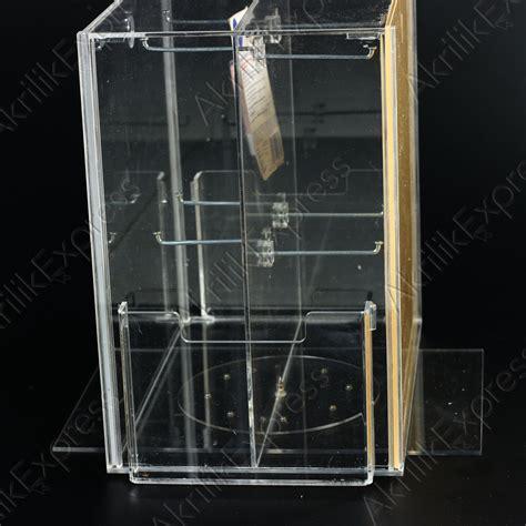 Akrilik Tempat Kosmetikacrylic Display K2 akrilik kotak kosmetik akrilik express