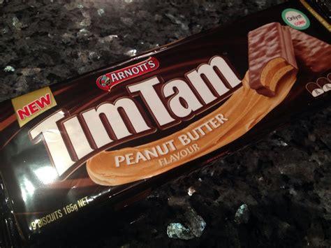 Timtam Peanut Butter arnott s tim tam peanut butter flavour review review clue