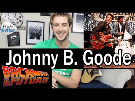 guitar tutorial johnny b goode johnny b goode lead rhythm guitar tutorial chuck