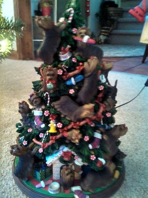 yorkie christmas tree awesome yorkies and porties and