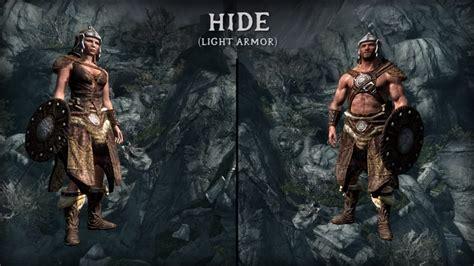 skyrim best light armor skyrim hide armor light armor arador