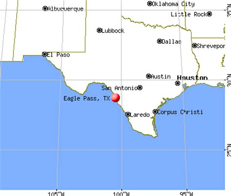 where is eagle pass texas on a map texas map eagle pass