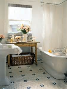 vintage bathroom flooring 35 vintage black and white bathroom tile ideas and pictures