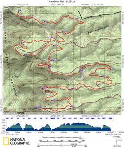 arizona rainbow trail map take a walk