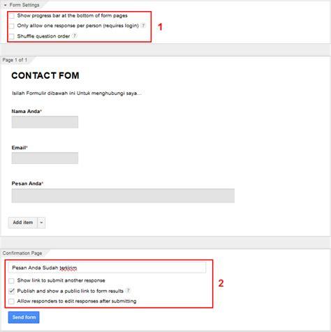 membuat google docs form panduan membuat formulir online dengan google form lengkap