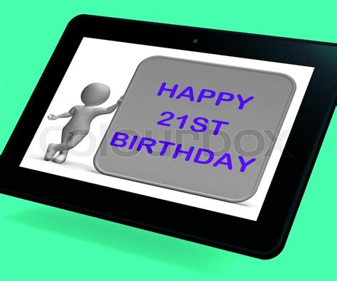 21 Geburtstag Bilder by 21 Geburtstag Tablet Hei 223 T Herzlichen Gl 252 Ckwunsch Zum