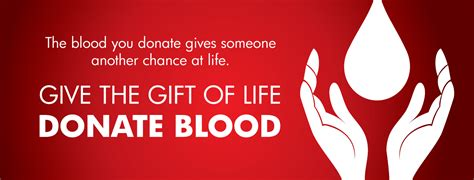 Blood Donation Gift Card - news events and promotions
