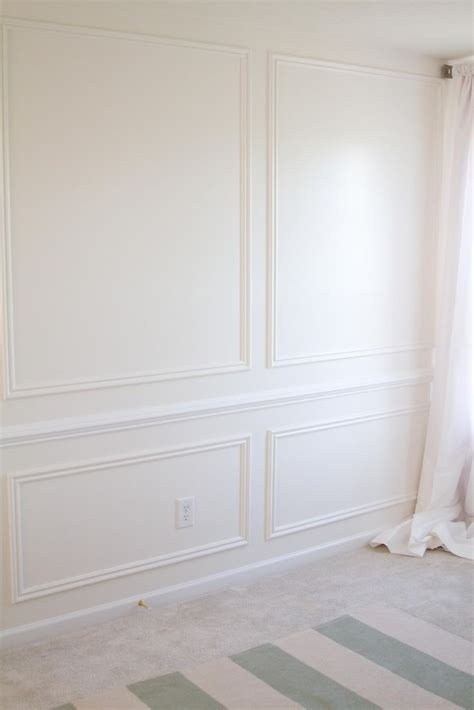 Fancy Wainscoting Best 25 Wall Trim Ideas On Grey Walls White