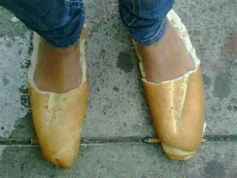 loafers bread loaf of bread as shoes lol my wacky sense of humor