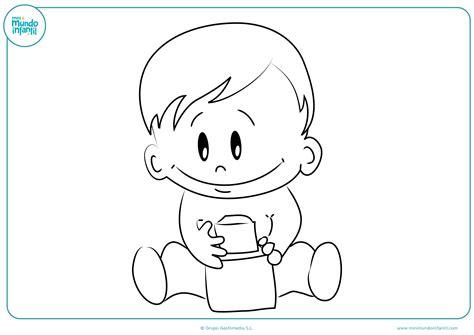 imagenes otoño infantiles para colorear dibujos de ni 241 os y ni 241 as para colorear mundo primaria