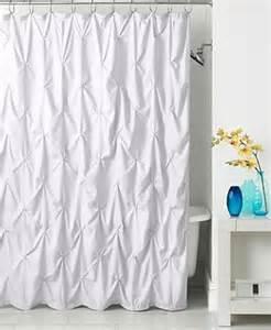 Calvin Klein Shower Curtains Park B Smith Pintuck Shower Curtain