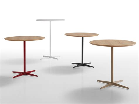 High Side Table High Side Table With 4 Base Malib 217 Collection By Inclass Mobles