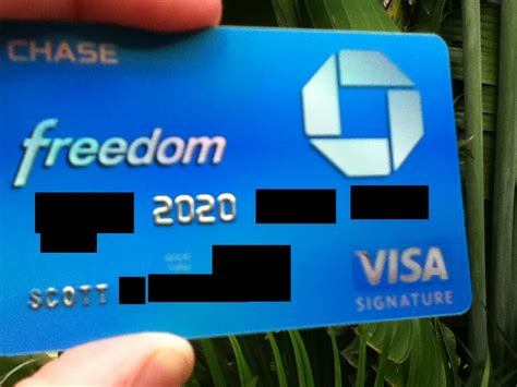 Chase Visa Gift Card - what a chase freedom visa signature looks like myfico 174 forums 1020536