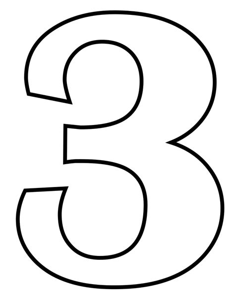 File Classic Alphabet Numbers 3 At Coloring Pages For