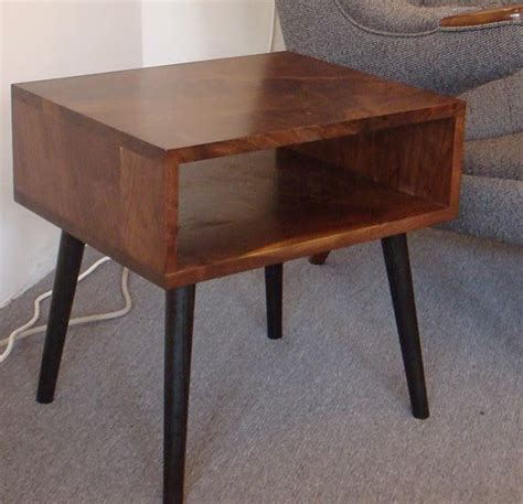 Mid Century Modern Bedside Tables by Mid Century Style Walnut Side Table By Jeremiahcollection