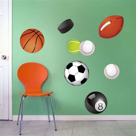 sports wall stickers 28 sports bedroom wall murals all house design news