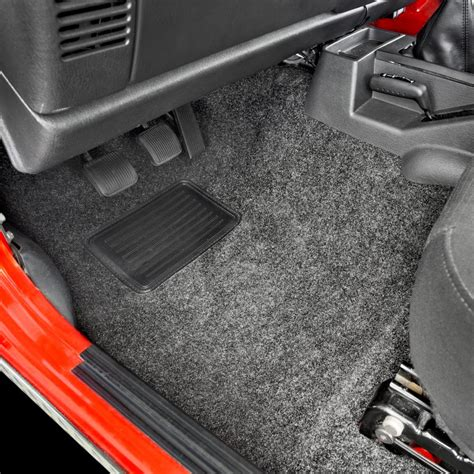 Jeep Carpet Bedrug Cbryj87 Gray Replacement Floor And Cargo Carpet Kit