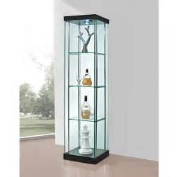 charme verre vitrine coin en verre vitrine meubles en bois