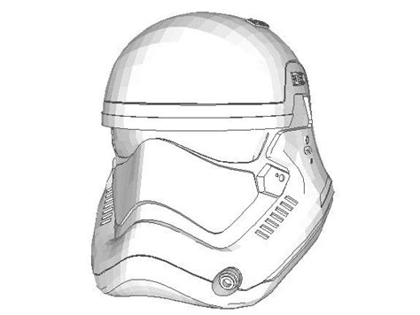 stormtrooper helmet template papercraftsquare new paper craft wars the