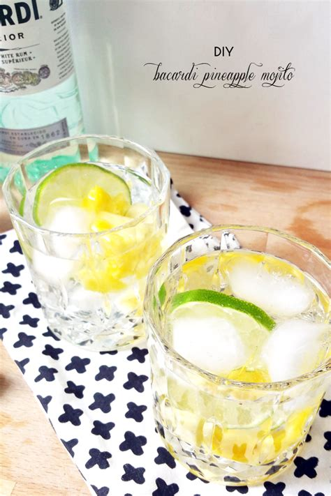 pineapple mojito recipe mint mojito recipe bacardi