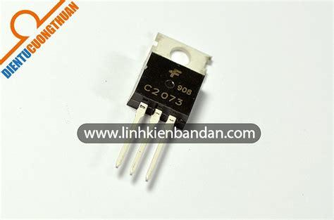 transistor npn c2073 c2073 2sc2073 transistor npn 1 5a 150v to 220
