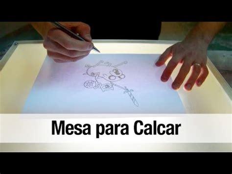 como dibujar con luz como hacer una mesa de luz para calcar youtube