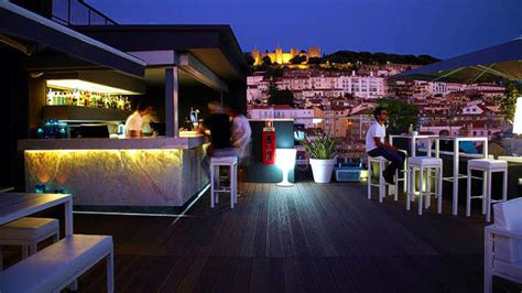 Best Roof Top Bars by Hotel Mundial Lisbon Portugal