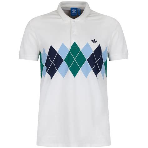 Bfs Sweater Hoodie Polos adidas originals argyle polo shirt retro 80s tennis b grade classic casuals ebay