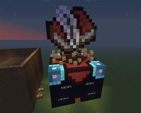 Enchanted Table Minecraft by Minecraft Pixel Custom Enchantment Table By