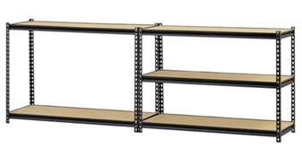 rack 5 shelf steel storage rack 72 quot h x 60 quot w x 18 quot d
