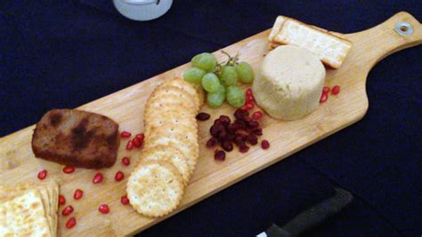 non dairy cottage cheese vegan wine and cheese evening at spin restaurant
