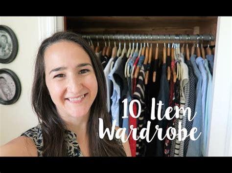 Ten Item Wardrobe - 10 ish item wardrobe summer 2017