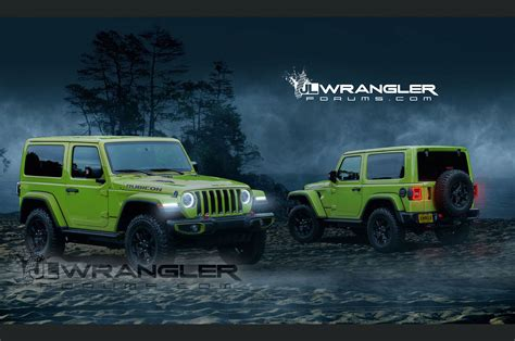 jl jeep diesel 2018 jeep wrangler jl to get 368hp turbo four according