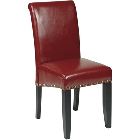 Nail Chair by Nail Dining Chair In Crimson Met87rd