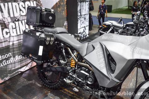 Harley Davidson Grey harley davidson 750 stealth adventure custom grey black