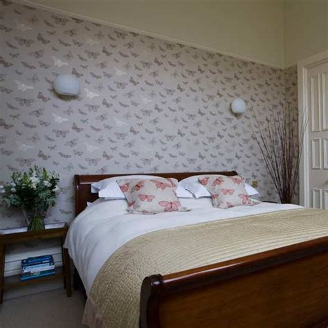 butterfly bedroom butterfly bedroom feminine bedroom statement wallpaper housetohome co uk