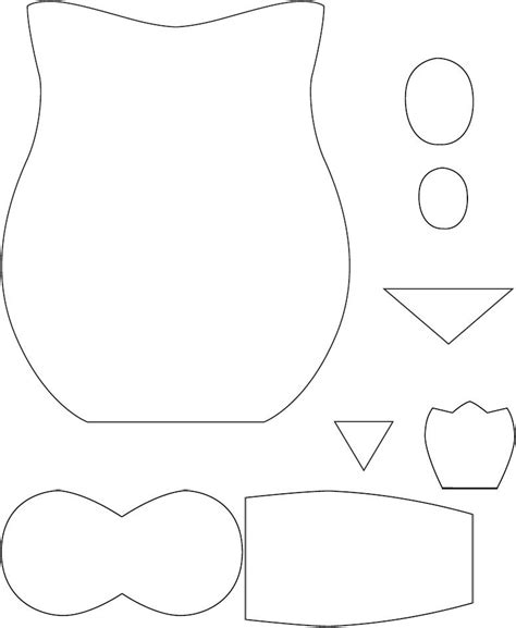 sewing pattern owl owl pattern scribd cards pinterest sewing owl and
