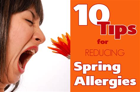 how to help allergies 10 tips for reducing allergies living awareness institute
