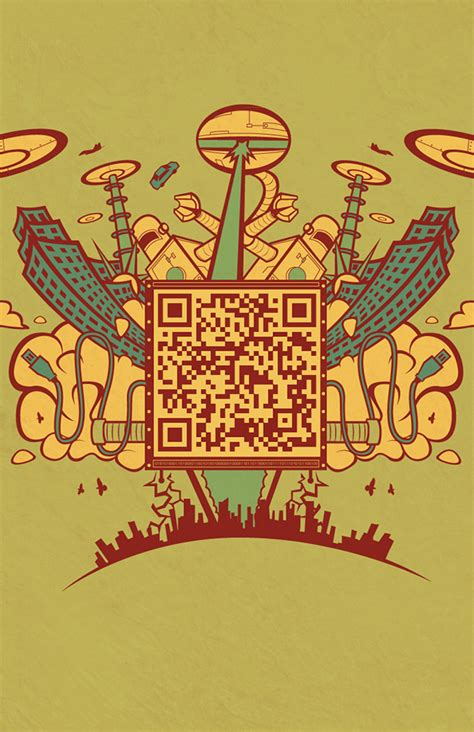 poster design with qr code self promotion qr code posters on behance