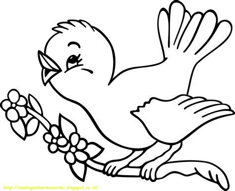 gambar mewarnai untuk anak 15 gambar mewarnai burung untuk anak paud dan tk