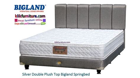 Kasur Bigland Silver silver plush top bed bigland harga