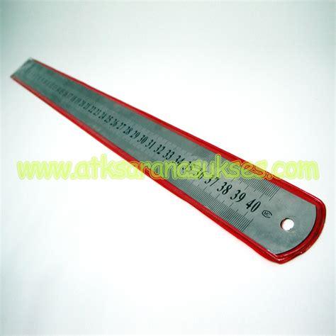 Penggaris 50cm jual alat tulis kantor murah surabaya 187 pengaris besi 40cm