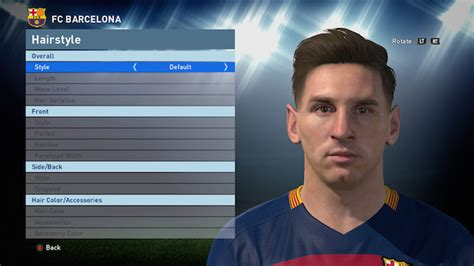 messi tattoo in pes 2016 messi pes 2016 gallery