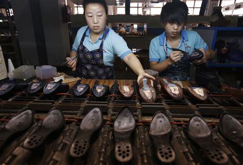 shoes factory thousands protest in china safety related shoe